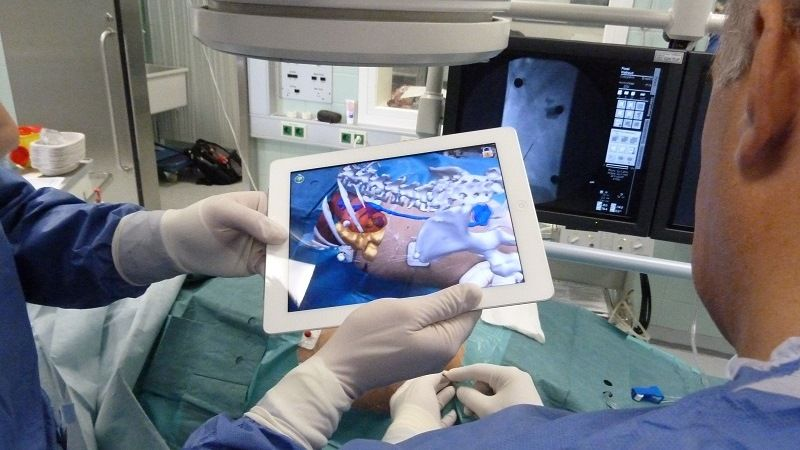 Augmented reality technology in medicine