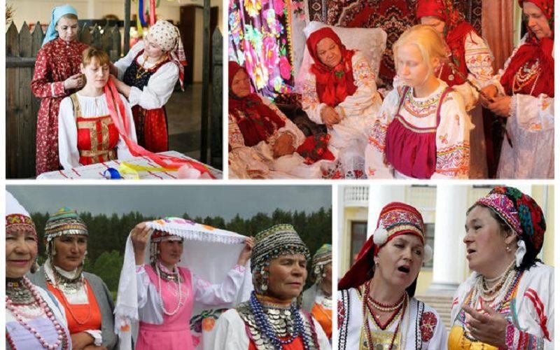 Свадебные традиции в Чувашии
