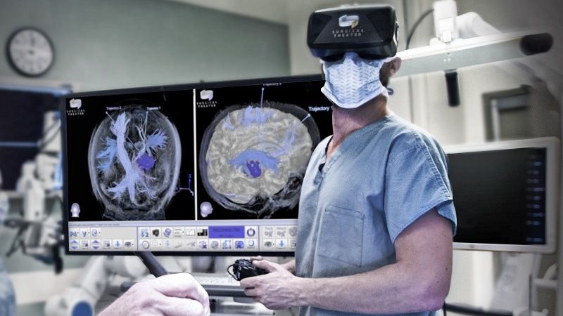 Of VR technology in medicine