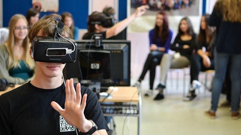 Of VR technology in education
