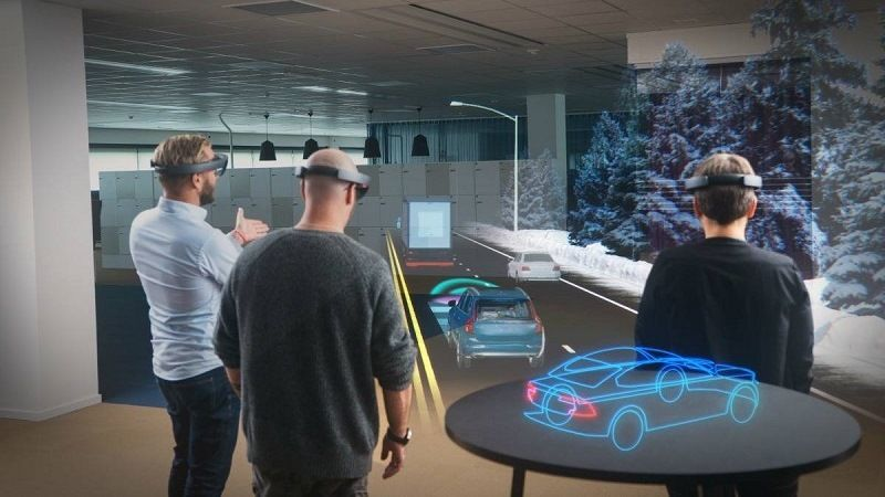 Of VR technology in the automotive industry