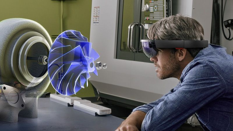 VR technology in mechanical engineering
