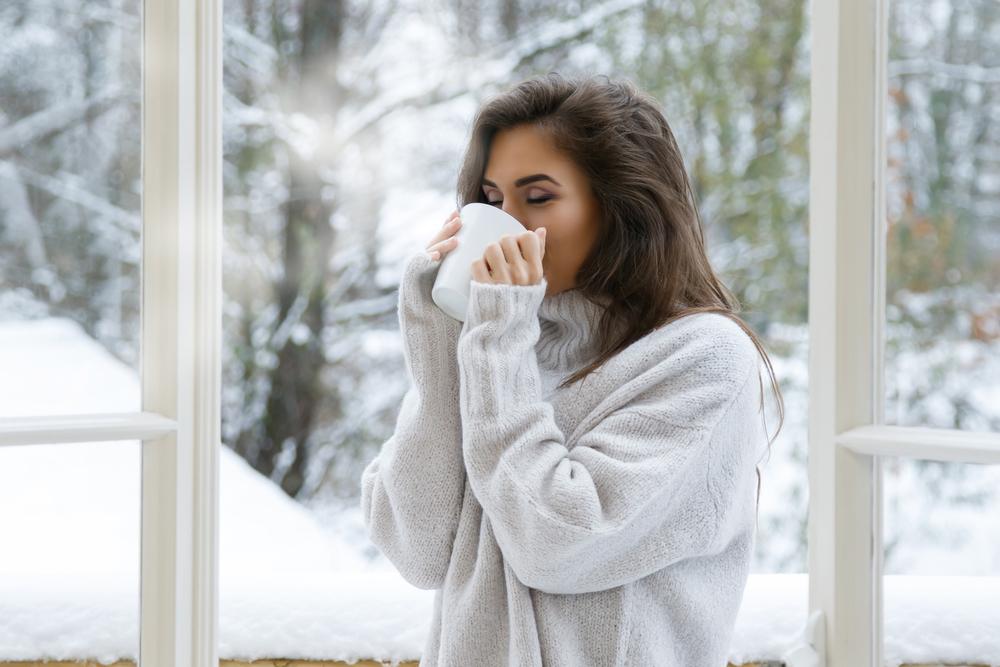 а за окном январь