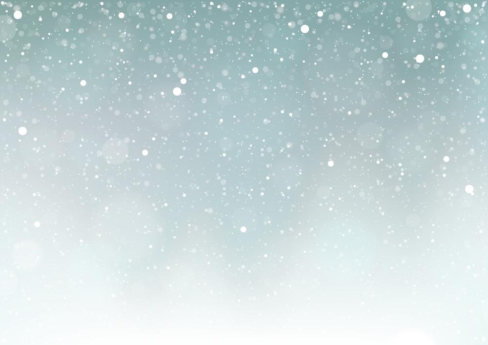 падающий снег