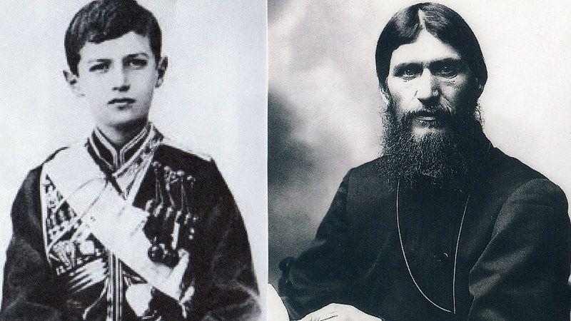 Цесаревич Алексей и Г.Распутин