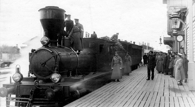Первая железная дорога в России