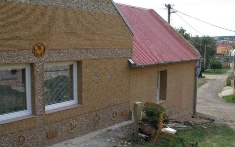 Дом из пробок Мирослава Свободы