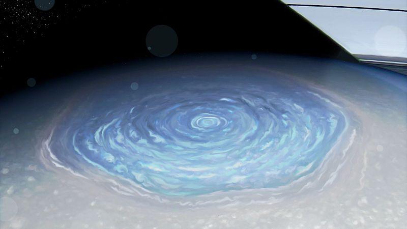 Сатурн: гексагон