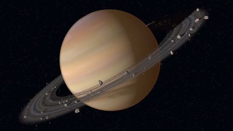 Удивительные кольца Сатурна