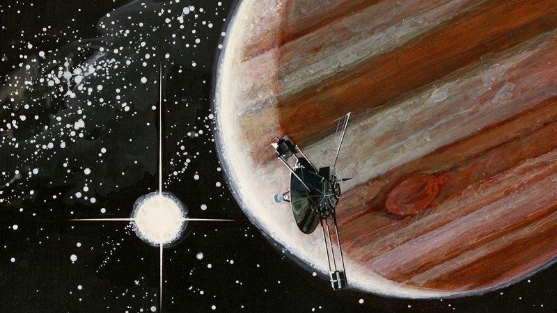 «Pioneer 10» на Юпитере