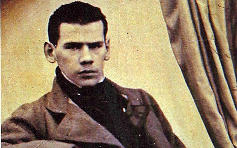 Л.Толстой в юности