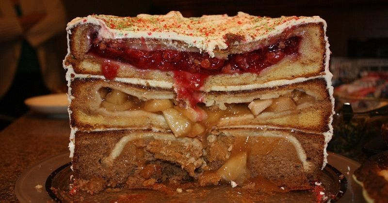 Пирог «Cherpumple»