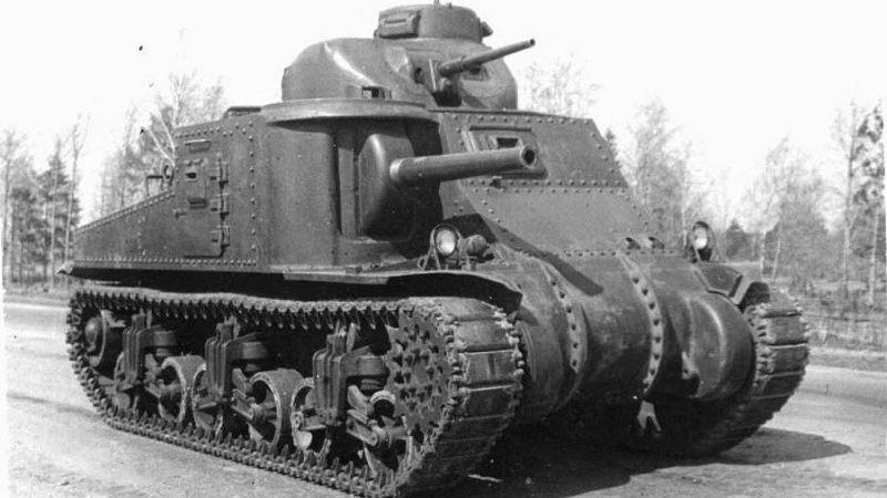 Танк М3 Ли