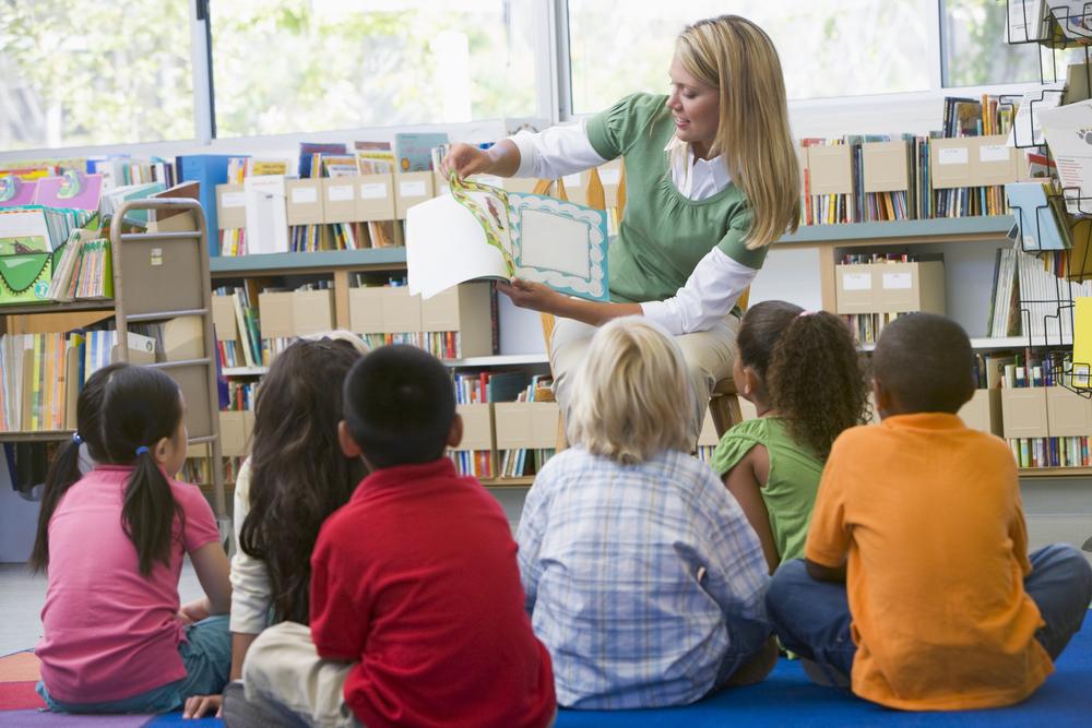 воспитательница детского сада