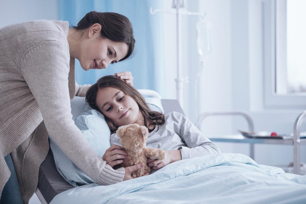 мама с болеющим ребенком