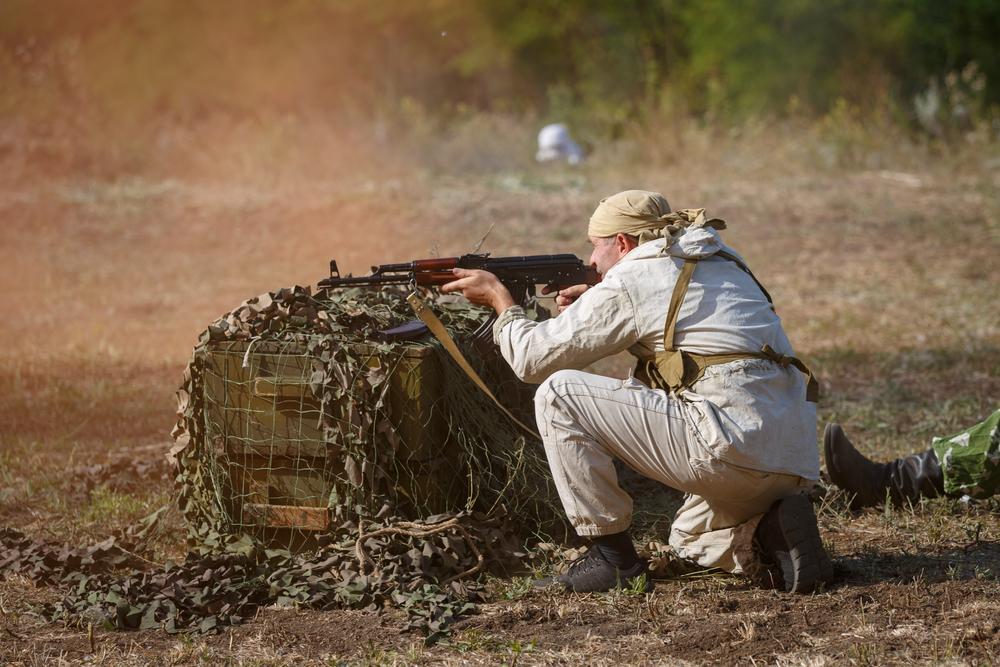 сын служит в армии