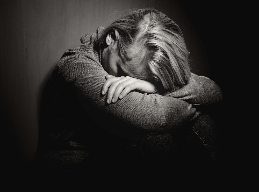у девушки депрессия