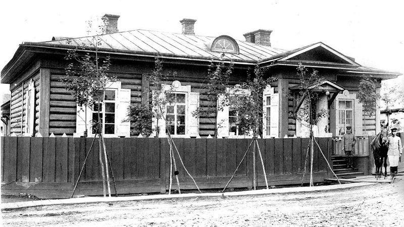 Дом, где жил Антон Чехов на Сахалине