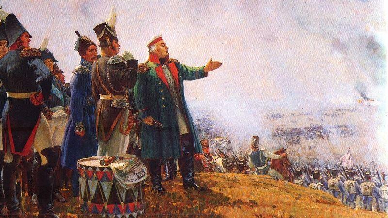 Кутузов на поле боя