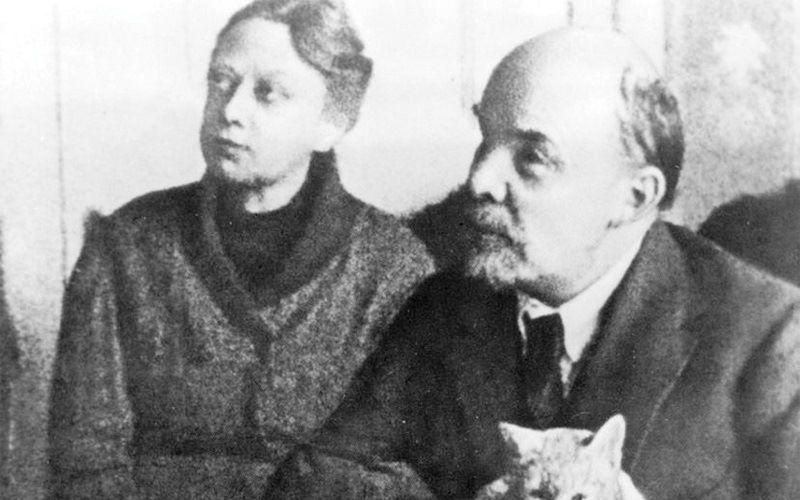 В.И.Ленин и Н.К.Крупская