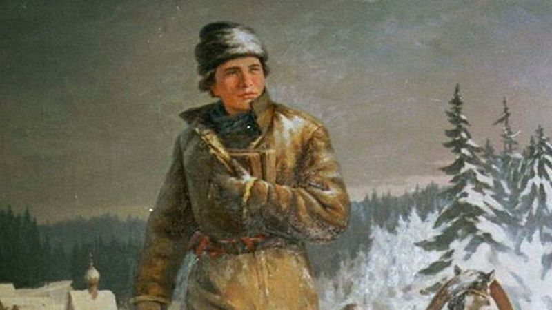 Юный Ломоносов