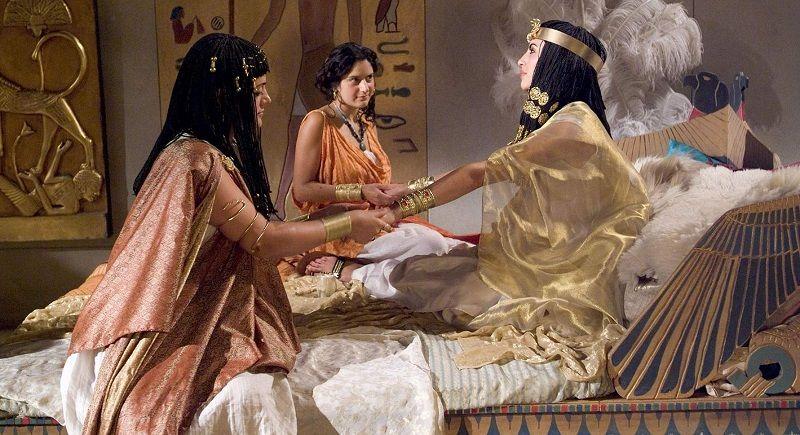 Маникюр в древнем Египте