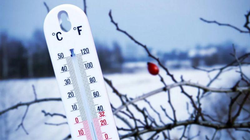 Температура воздуха зимой