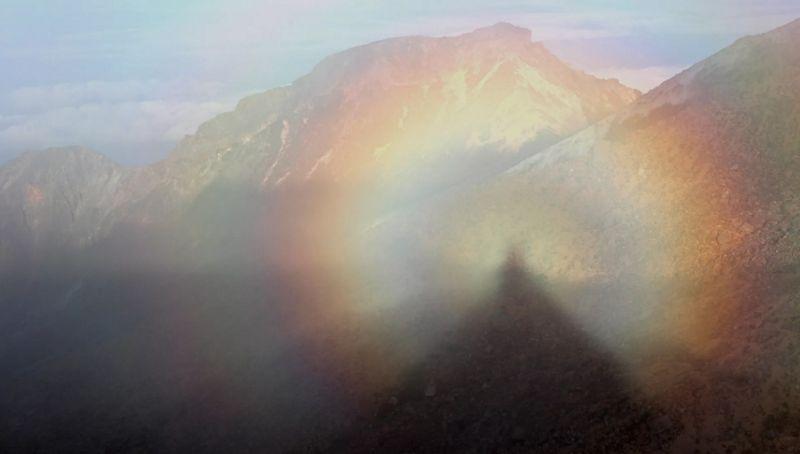 Феномен Глория в горах