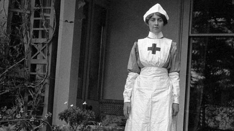 Агата Кристи во время первой мировой войны