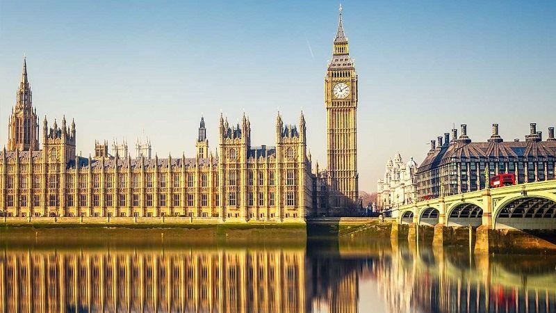 Лондон. Здание парламента