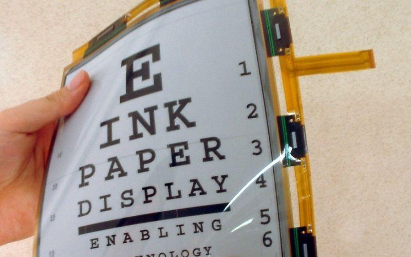 Электронная бумага по технологии E Ink