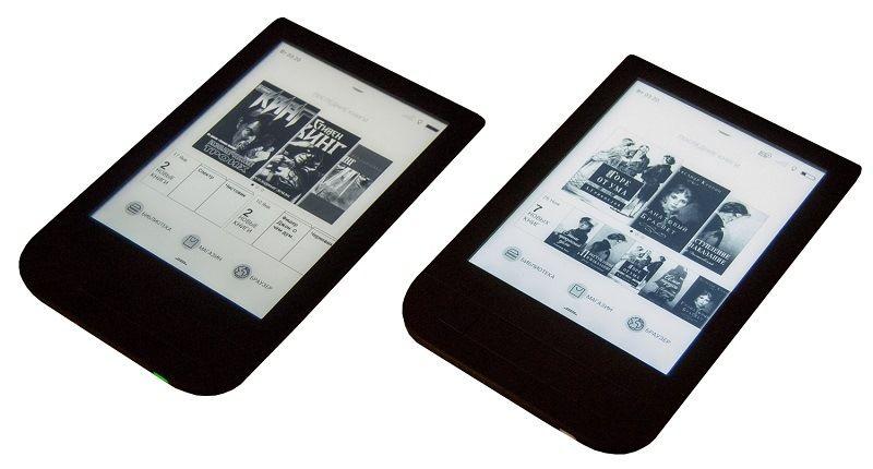 Электронная книга с E-Ink экраном