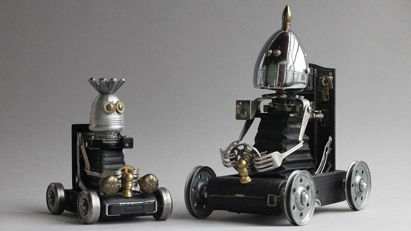 Металлические игрушки Брайана Мока из Портленда