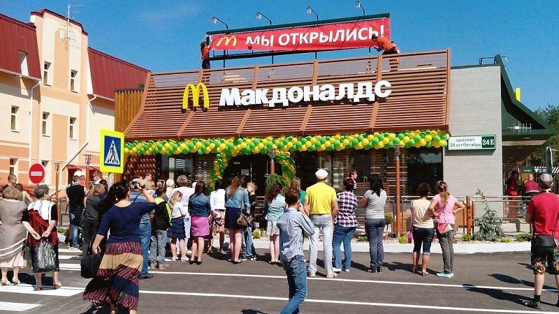Сеть закусочных в Москве