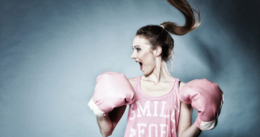 статус для сильной девушки