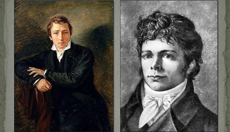 Генрих Гейне и Фридрих Шеллинг