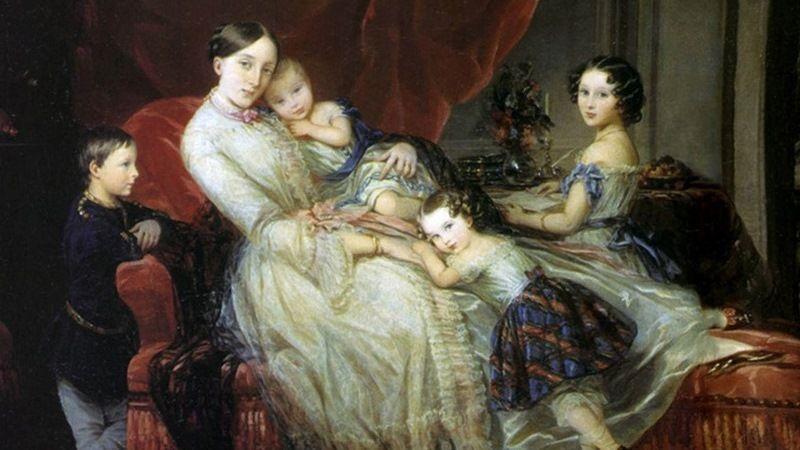 Жена и дети Ф.Тютчева