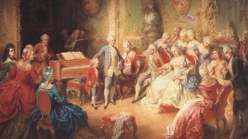 Странное чувство юмора Моцарта