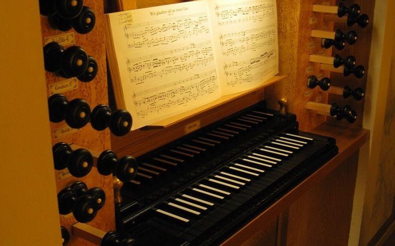 Орган, на котором играл Бах