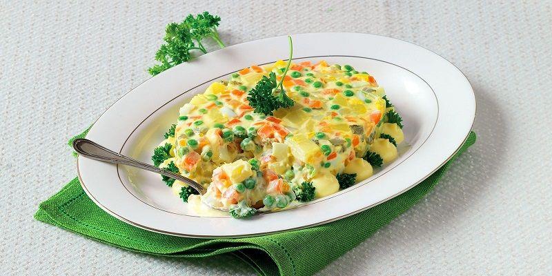 Итальянский салат «Insalata russa»