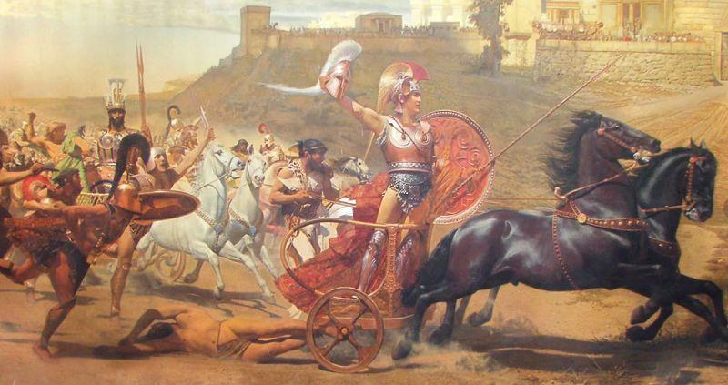 Причины начала Троянской войны