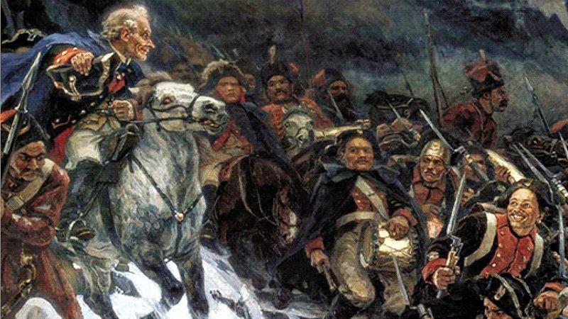 Суворов в бою
