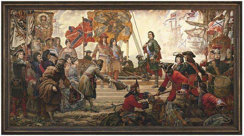 Петр I в Северной войне