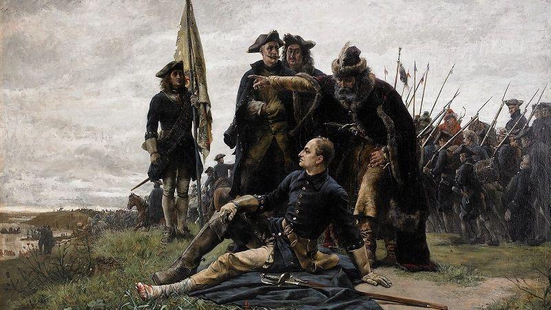 Карл XXII в период войны