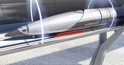 Поезда hyperloop