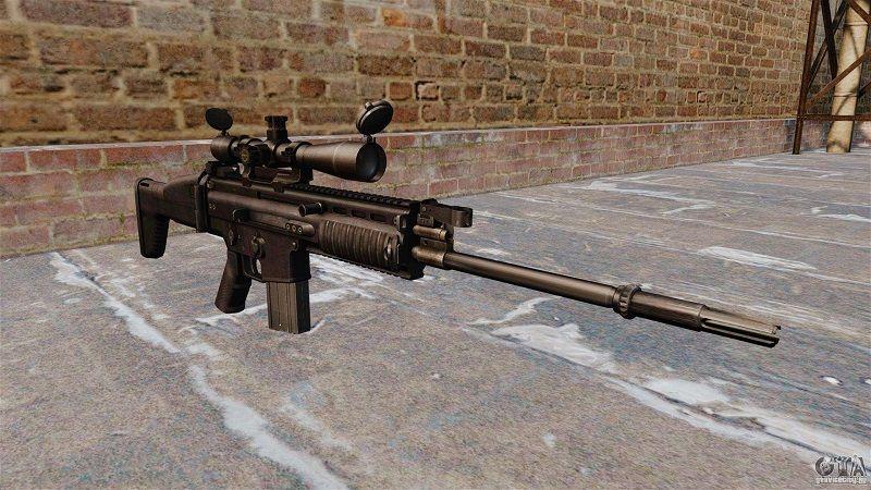 Автоматическая винтовка FN SCAR