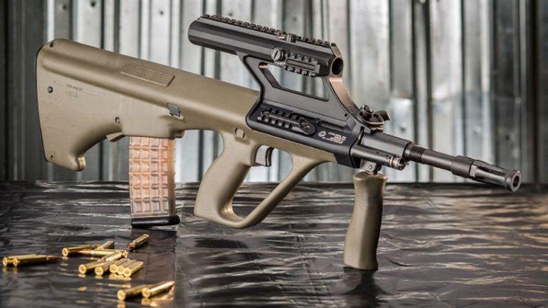 Армейская винтовка Steyr AUG