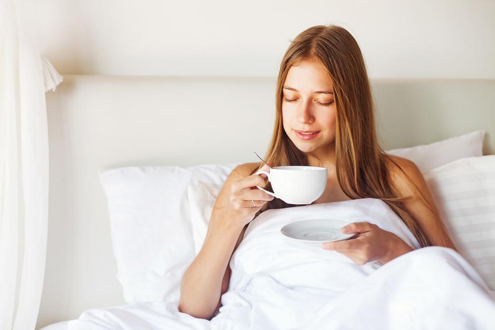 утренний чай в постель