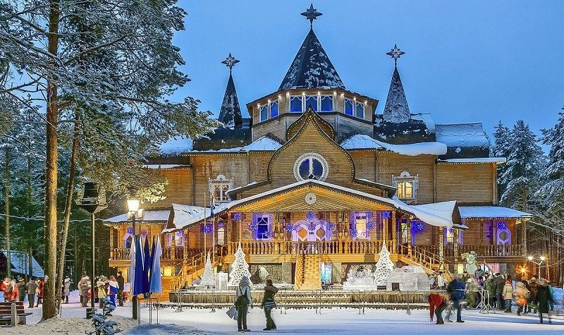 Великий Устюг в Вологодской области - резиденция Деда Мороза
