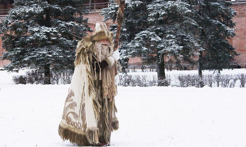 Славянский бог зимы Трескун